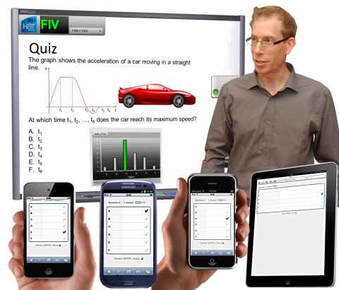 Student Response System from NTNU